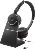 Jabra Evolve 75 UC Stereo-Office-Headset + Ladestation