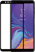 Azuri gehärtetes Glas Samsung Galaxy A7 (2018) Displayschutzglas Schwarz