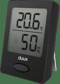 Duux Sense Hygrometer und Thermometer Schwarz
