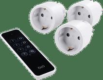 Chacon DIO intelligentes Mini-Stecker-Kit mit Fernbedienung