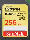 SanDisk SDXC Extreme, 256 GB, 150 MB/s