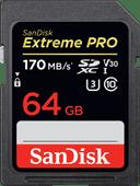 SanDisk SDXC Extreme, 64 GB, 170 MB/s
