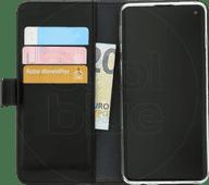 Azuri Brieftasche Magnet Samsung Galaxy S10 Bücherregal Schwarz