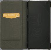 Azuri Booklet Ultradünne Samsung Galaxy S10 Plus Bücherregal Schwarz