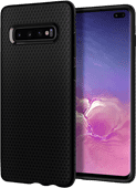 Spigen Liquid Air Samsung Galaxy S10 Plus Rückseite Schwarz