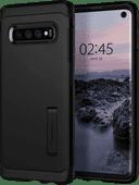 Spigen Tough Armor Samsung Galaxy S10 Rückseite Schwarz
