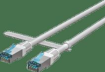 BlueBuilt Netzwerkkabel FTP CAT6 1 Meter Weiß