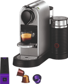 Krups Nespresso Citiz & Milch XN761B Silber