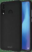 Azuri Flexibler Sand Huawei P30 Lite Rückseite Schwarz