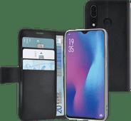 Azuri Wallet Magnet Huawei P30 Lite Bücherregal Schwarz