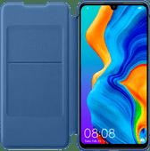 Huawei P30 Lite Flip Cover Buchetui Blau