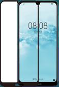 Azuri Rinox Gehärtetes Glas Huawei Y6 (2019) Displayschutzglas Schwarz