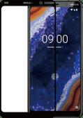 Azuri gehärtetes Glas Nokia 9 PureView Displayschutzglas Schwarz
