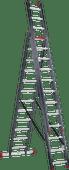 Altrex-Mehrzweckleiter Allround 3 x 12 beschichtet