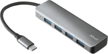 Trust Halyx Aluminium USB-C zu 4 Port USB-A 3.2 Hub