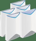 Netgear Orbi Pro Multiroom WLAN 5er-Pack