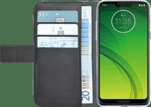 Azuri Brieftasche Magnet Motorola Moto G7 Power Book Cover Schwarz