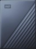WD My Passport Ultra 4 TB Blau
