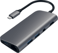 Satechi Type-C Multimedia Adapter Grau