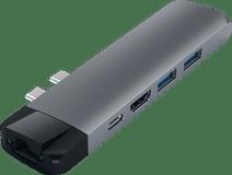 Satechi Type C Pro Hub Ethernet & 4K HDMI Grau