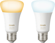 Philips Hue White Ambiance E27 Bluetooth Duo Pack