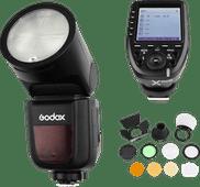 Godox Speedlite V1 Canon X-Pro Auslöser-Zubehörset