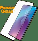 PanzerGlass Fall freundlich Xiaomi Mi 9T Displayschutzglas Schwarz