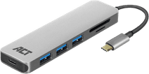 ACT USB-C 4-Ports USB-Hub mit Stromversorgung