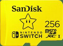 SanDisk MicroSDXC Extreme Gaming mit 256 GB mit Nintendo-Lizenz