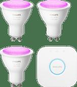 Philips Hue Weiß- und Farblicht-Starterpaket GU10