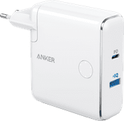 Anker PowerCore Fusion Ladegerät und Powerbank, 5.000 mAh, Power Delivery, Weiß