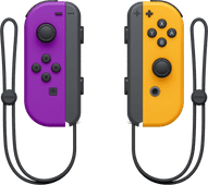 Nintendo Switch Joy-Con Set, Neonlila/Neonorange