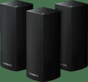 Linksys Velop Tri-Band Multiroom WLAN Schwarz (3 Stationen)