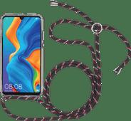 StilGut Huawei P30 Lite Rückseite mit transparentem Kabel