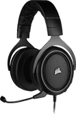 Corsair HS50 Pro Stereo Gaming Headset Carbon / Schwarz