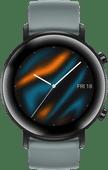Huawei Watch GT 2 Edelstahl Schwarz/Cyan 42mm