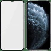 PanzerGlass Hülle Freundliches iPhone X / Xs / 11 Pro Displayschutzglas Schwarz