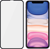 PanzerGlass Fall freundlich iPhone Xr / 11 Displayschutzfolie Glas Schwarz