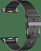 Just in Case Apple Watch 38/40 mm Milanaise-Armband Schwarz
