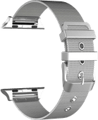 Just in Case Apple Watch 38/40 mm Milanaise-Armband Silber