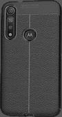 Nur für den Fall Soft Design TPU Motorola Moto G8 Plus Rückseite Schwarz