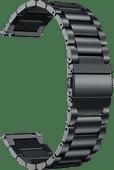 Just in Case Samsung Edelstahl-Armband Schwarz 20mm