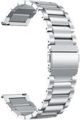 Just in Case Samsung Galaxy Watch Active2 Edelstahl-Armband Silber