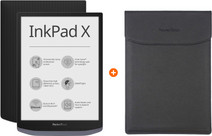 PocketBook InkPad X + PocketBook Hülle Schwarz