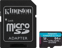 Kingston microSDXC Canvas Go Plus, 64 GB