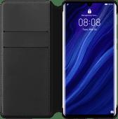 Huawei P30 Pro Flip Cover Buchetui Schwarz
