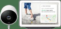 Google Nest Cam Outdoor + Google Nest Hub Anthrazit
