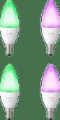 Philips Hue Weiß und Farbig E14 4er-Pack