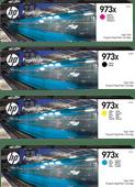 HP 973X Cartridges Combo Pack
