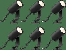 Philips Hue Lily Starterpaket Steckspot Outdoor 6er-Pack